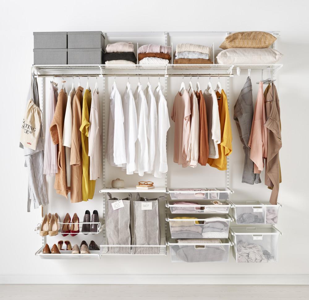 Skapa en rutin för att rensa & få ordning i garderoben