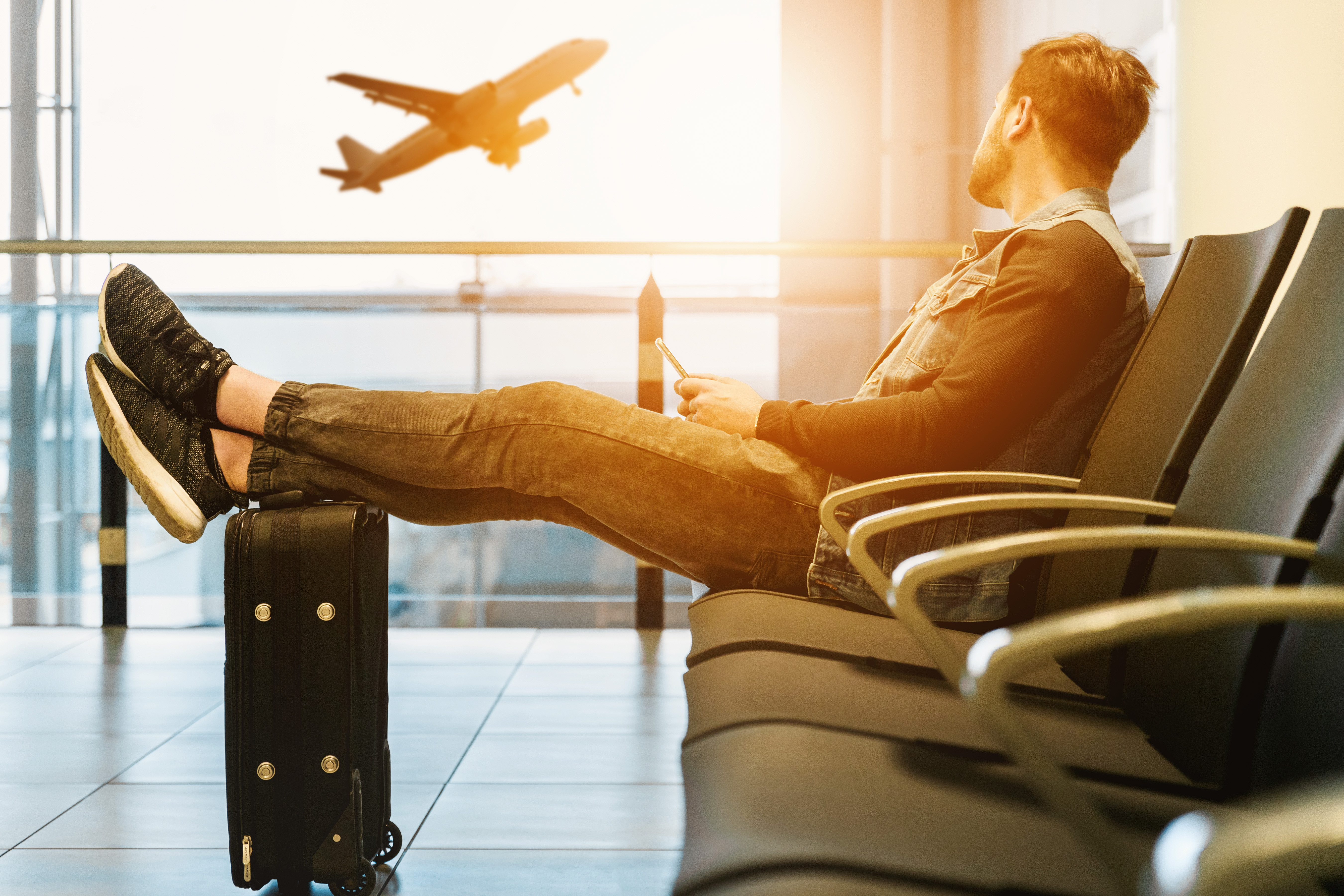 Svenskarna väljer bort flyget i sommar