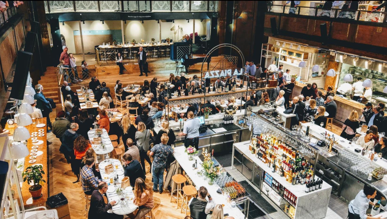 Italiensk Mat & Vinfestival Anordnas I Stockholm
