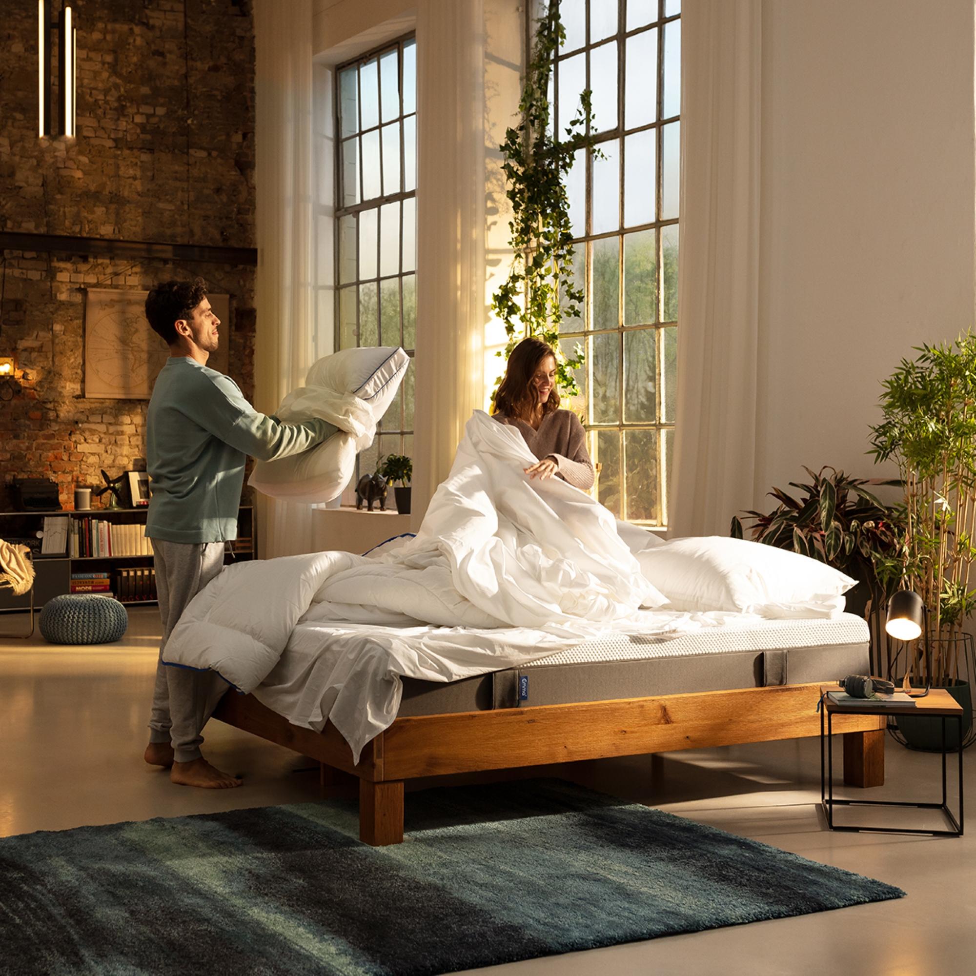 Nytt säng-koncept: Sov gott – vakna pigg