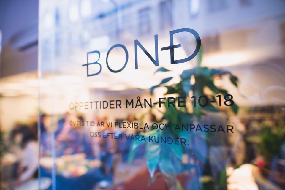 Bond. En salong som utstrålar värme, inspiration och kunskap