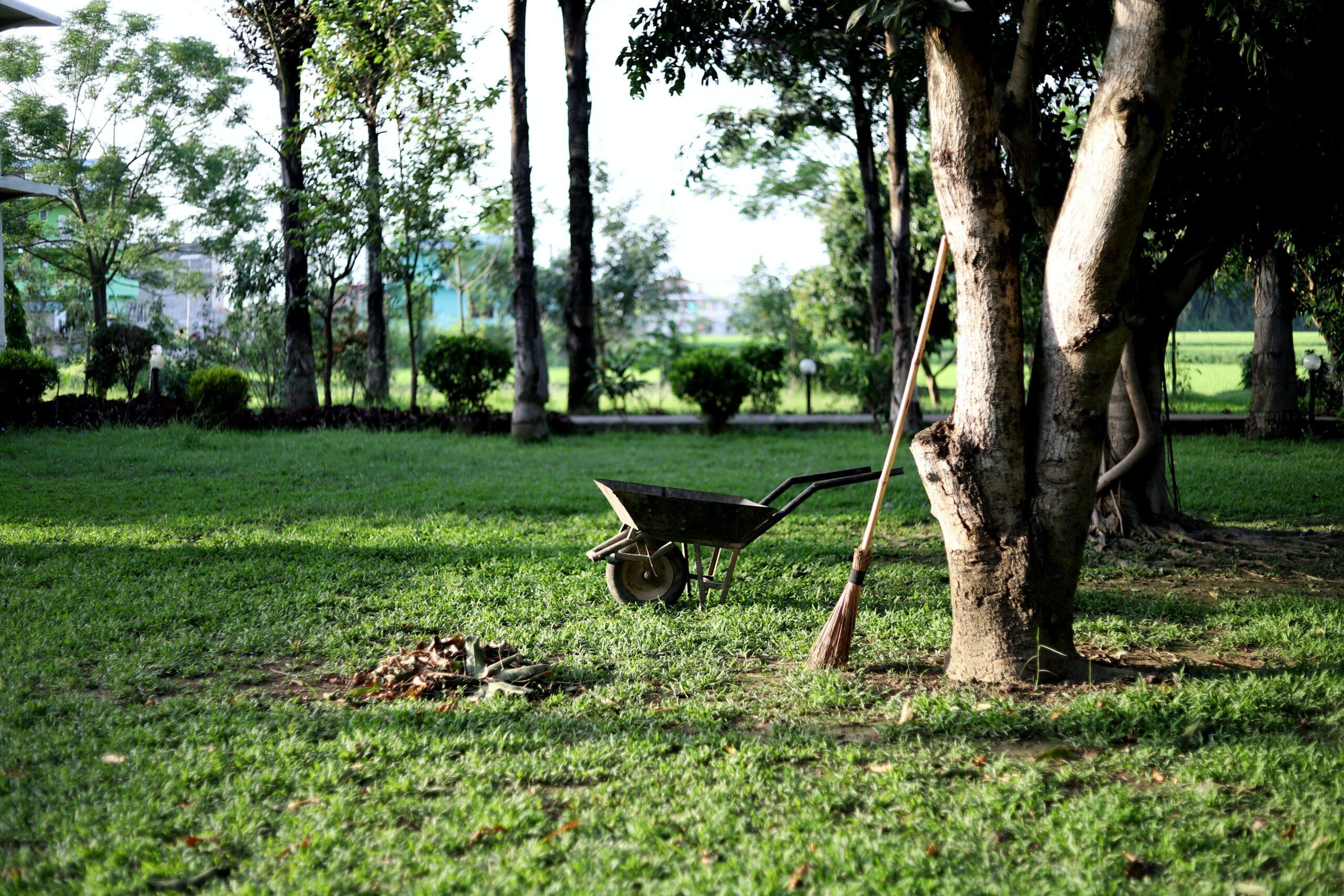Städade trädgårdar skapar bolust